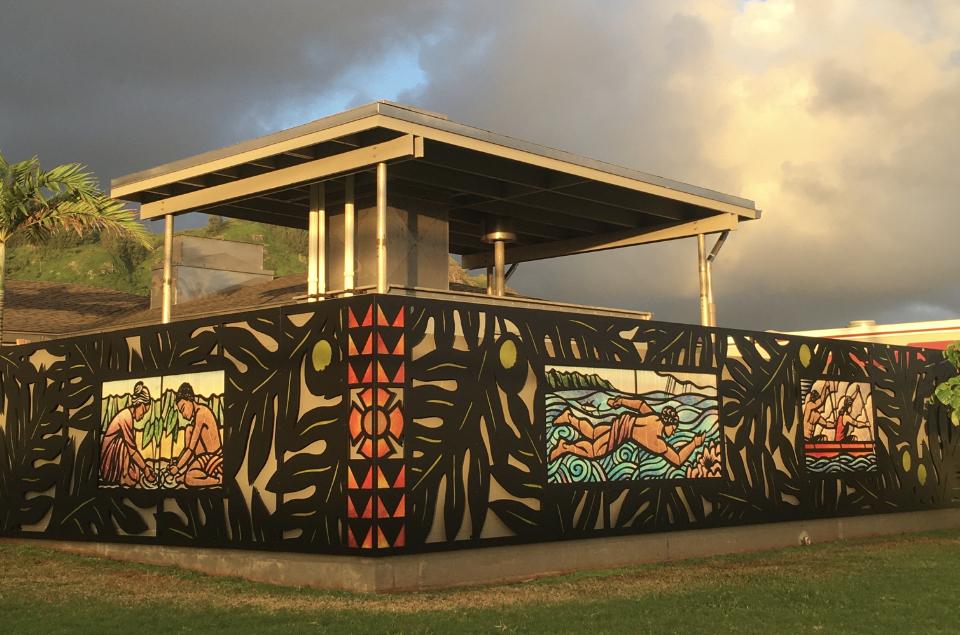 Fire Station 15, Hau'ula, Hawaii